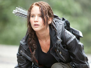 The theatrical trailer for Jennifer Lawrence's 'The Hunger Games'.