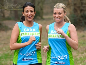 Billi Mucklow and Cara Kilbey - London Marathon