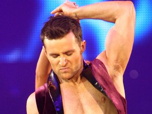 Harry Judd and Aliona Vilani perform in the final dress rehearsal for the opening of the 'Strictly Come Dancing Live Tour'