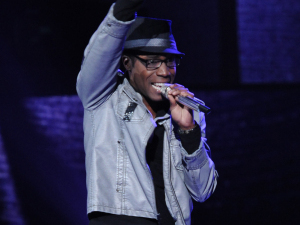 American Idol contestant Aaron Marcellus