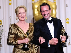 Meryl Streep, Jean Dujardin, The Oscars 2012