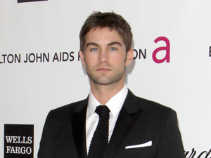 Chace Crawford, Elton John&#39;s Oscar party
