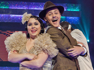 Tyger Drew Honey and Dani Harmer perform to Bugsy Malone &quot;Fat Sams Grand Slam&quot;.