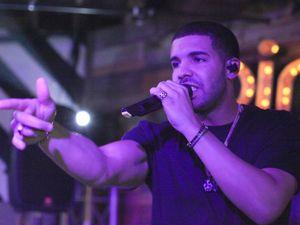 Drake performing live