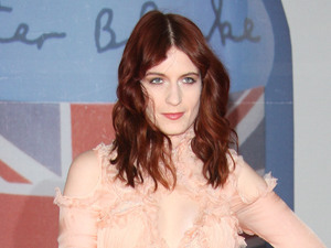 Florence Welch of Florence and the Machine The Brit Awards 2012 held at The O2 - Arrivals London, England