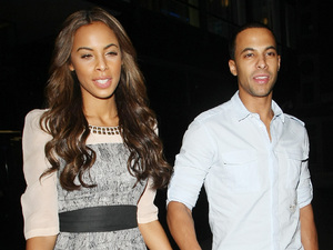 Rochelle Wiseman of The Saturdays and Marvin Humes of JLS