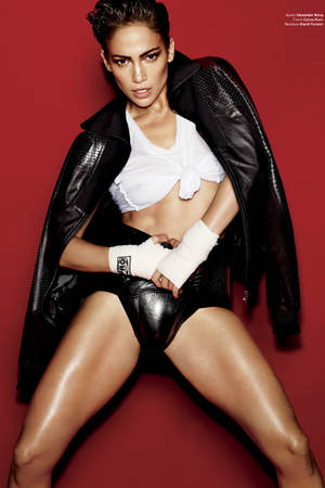 Jennifer Lopez appears in V Magazine