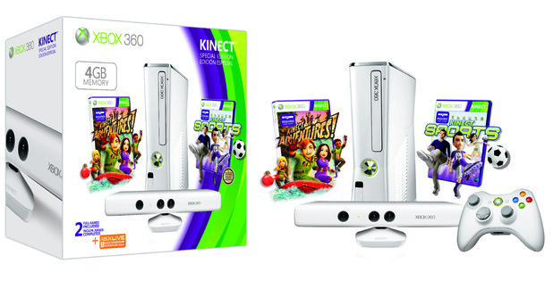 Xbox 360 Kinect family bundle