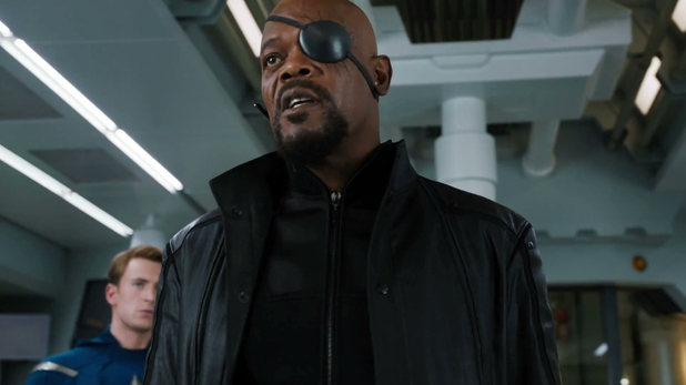 "The Avengers trailer ""War has started,"" says Samuel L Jackson's SHIELD agent Nick Fury."