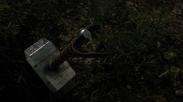 The hammer belonging to Thor.
