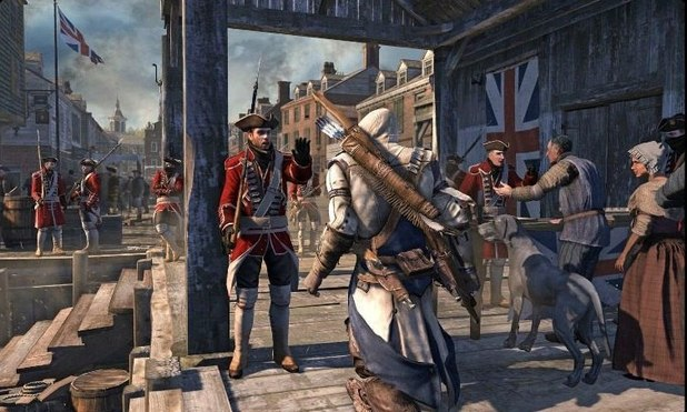 'Assassins Creed III' screenshot