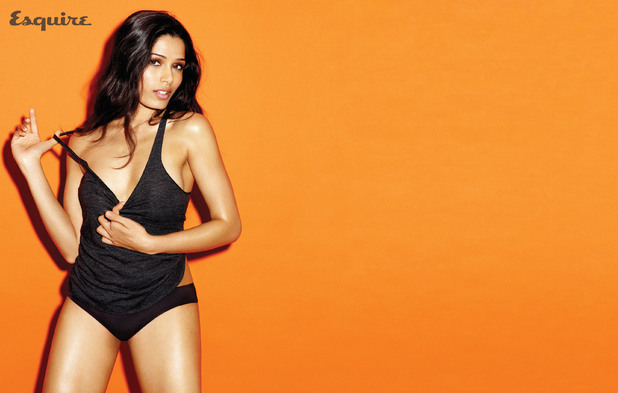 Freida Pinto in Esquire Magazine