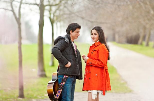 Shah Rukh Khan & Katrina Kaif in Jab Tak Hai Jaan