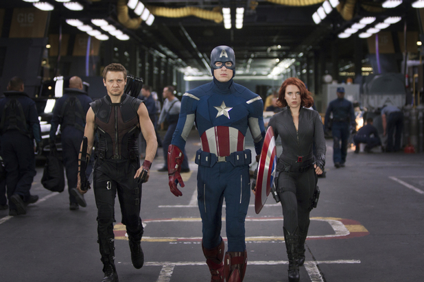 Hawkeye, Captain America, Black Widow
