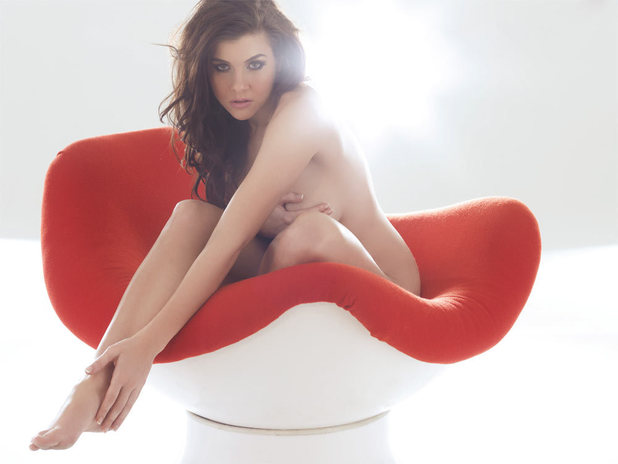 Imogen Thomas in Nuts Magazine