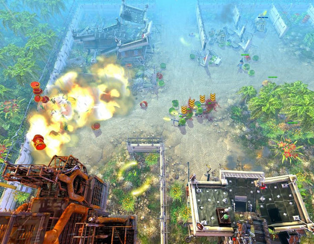 'Cannon Fodder 3' screenshot