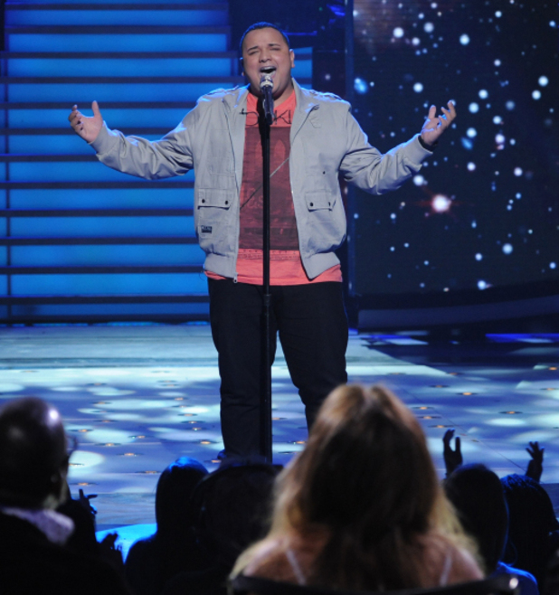 American Idol contestant Jeremy Rosado