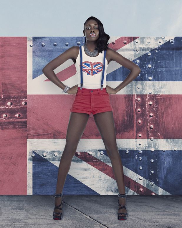 America&#39;s Next Top Model British Invasion: Alisha