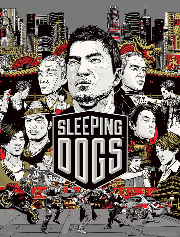 'Sleeping Dogs' box art