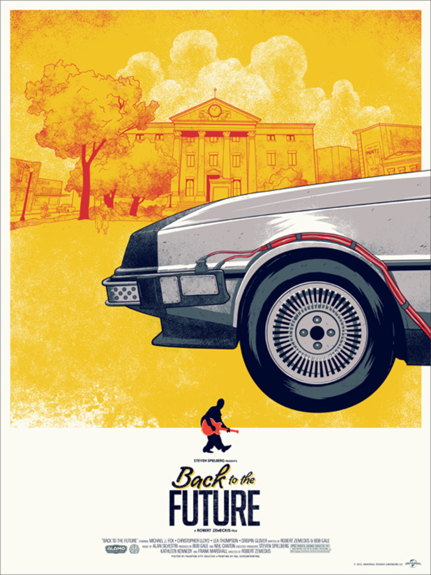 Back To The Future: Mondo posters