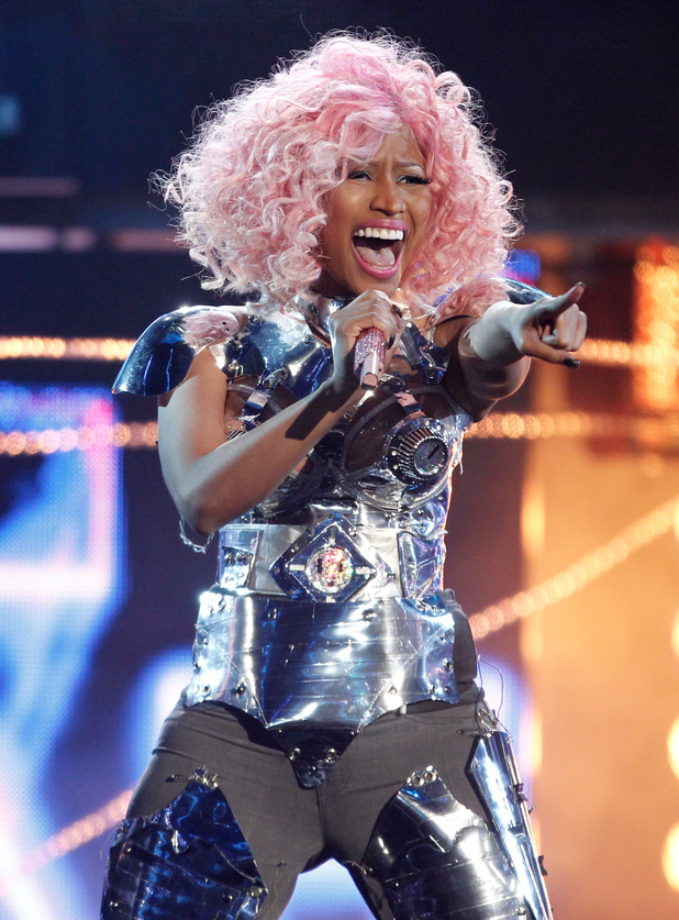 Nicki Minaj performing live