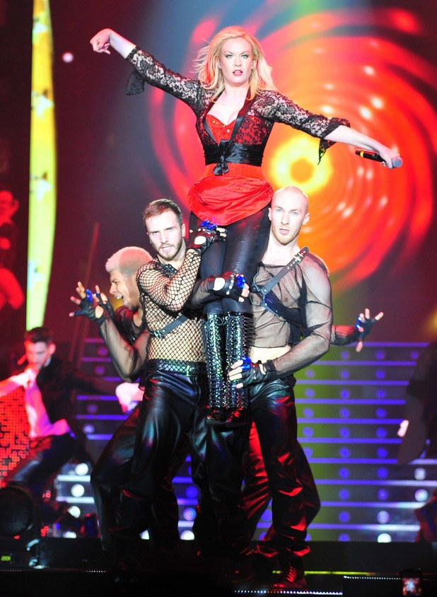 The X Factor Live Tour 2012 at Manchester Arena: Kitty Brucknell