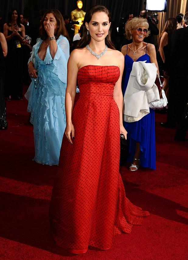 Natalie Portman, Oscars 2012