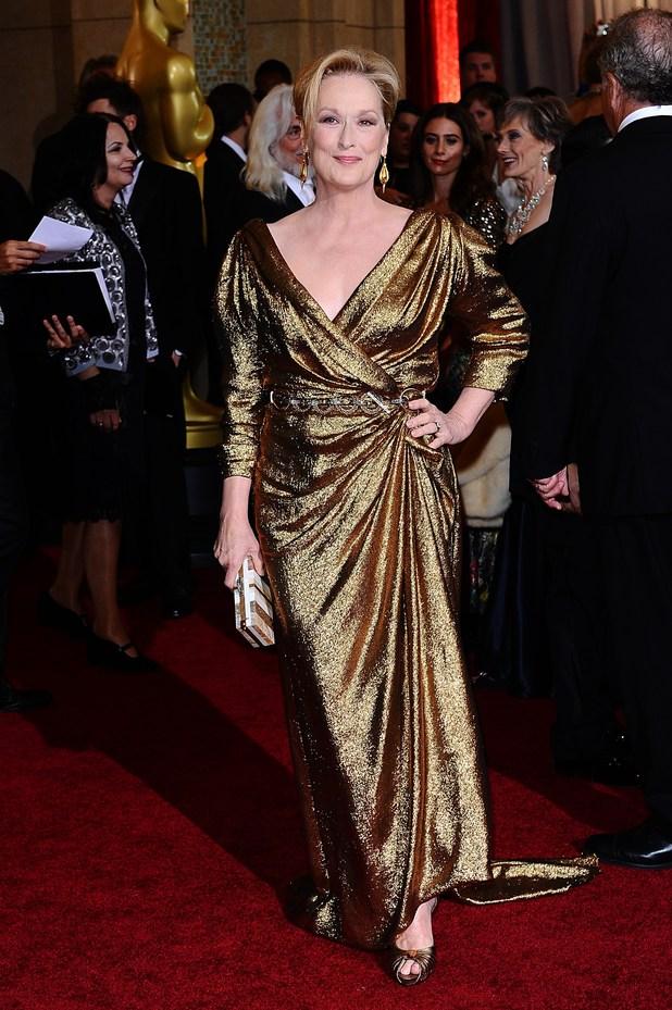 Meryl Streep, Oscars 2012