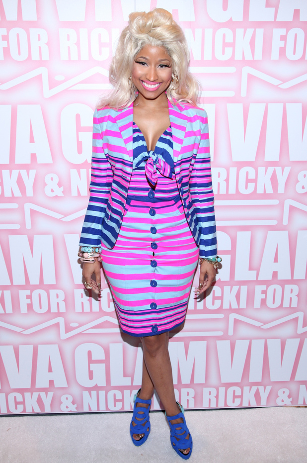 Nicki Minaj the MAC Cosmetics Viva Glam Party at Stage 37 New York City, USA - 15.02.12