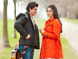Shah Rukh Khan & Katrina Kaif in a still from their new untitled movie
