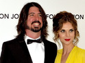 Dave Grohl and Jordyn Blum The 20th Annual Elton John AIDS Foundation's Oscar Viewing Party held at West Hollywood Park - Arrivals Los Angeles, California - 26.02.12