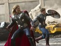 Thor and Captain America battle aliens in Digital Spy's exclusive Avengers video.