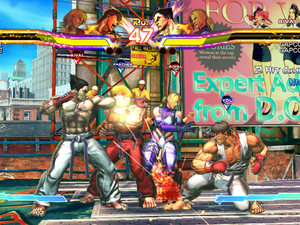 &#39;Street Fighter X Tekken&#39; screenshot