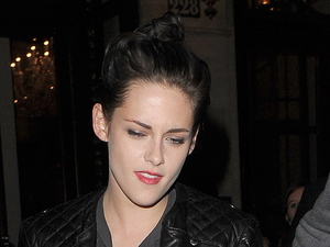 Kristen Stewart leaving her hotel