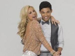 Dancing With The Stars: Roshon Fegan and Chelsie Hightower