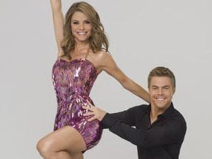 Dancing With The Stars: Maria Menounos and Derek Hough