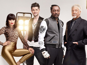 The Voice UK - The Judges - Jessie J, Danny O'Donoghue, Will.i.am, Tom Jones