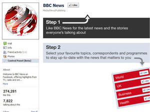 BBC News Facebook App screenshot