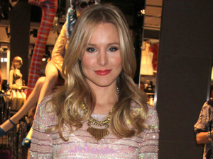 Kristen Bell Topshop and Topman open their flagship stores at the Fashion Show Mall Las Vegas Las Vegas