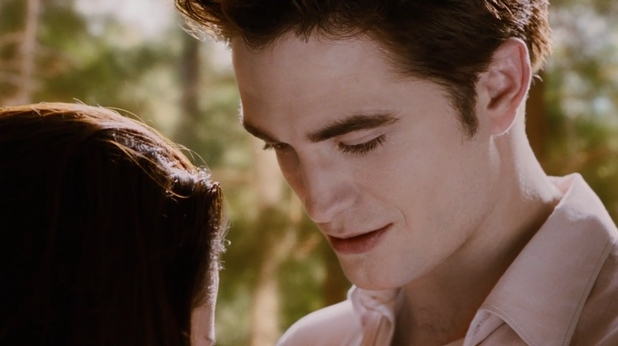 Robert Pattinson and Kristen Stewart in Twilight Breaking Dawn - Part 2