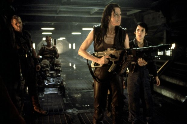 Sigourney Weaver leads Ron Perlman and Winona Ryder into action