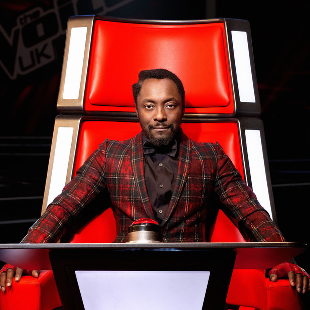The Voice UK - The Judges - Will.i.am