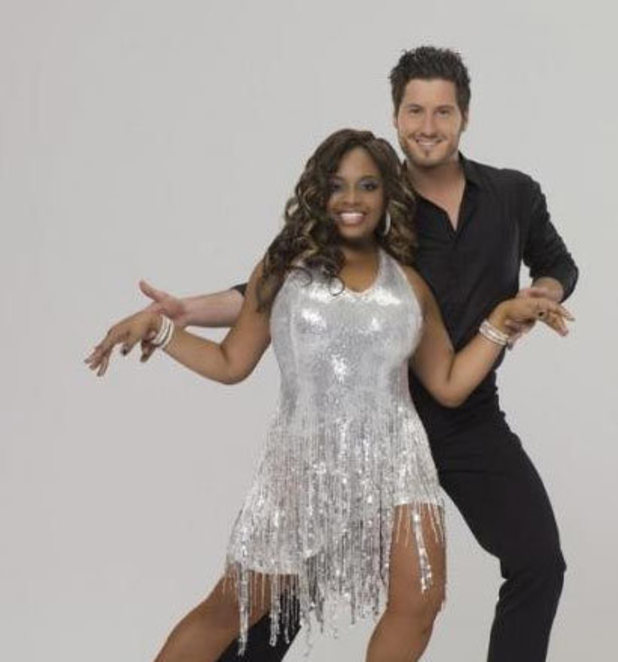 Dancing With The Stars: Sherri Shepherd and Val Chmerkovskiy