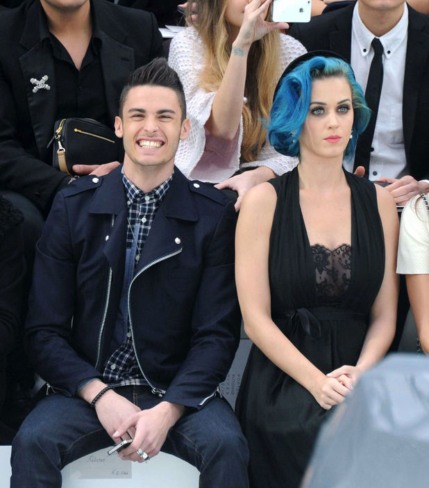 Katy Perry & rumoured boyfriend Baptiste Giabiconi