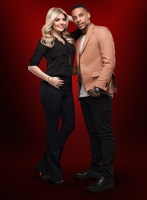 Holly Willoughby and Reggie Yates