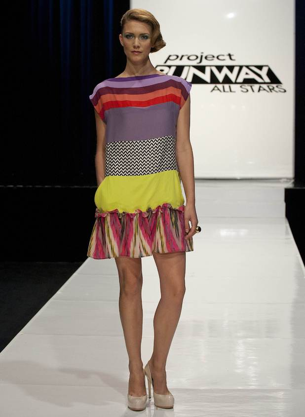 Project Runway All Stars Episode 10: Mondo Guerra's design