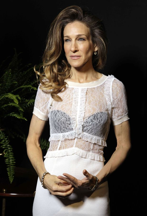 Sarah jessica Parker at Paris Fashion Week 2012