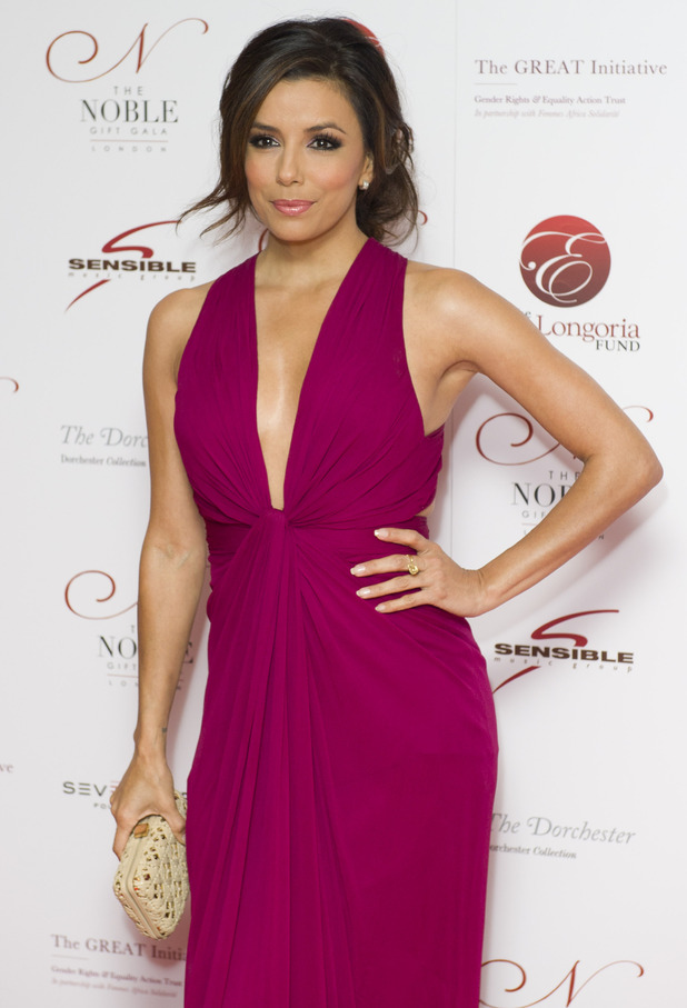 Eva Longoria - Continuing a trio of birthdays for March 15, 'Desperate Housewives' star Longoria turns 37.