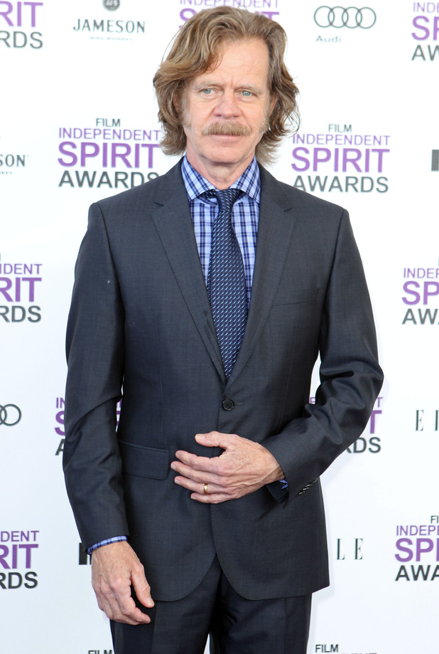 William H. Macy - The 'Shameless' star, who last week was honoured on the Hollywood Walk of Fame alongside his wife Felicity Huffman, turns 62 on Tuesday.