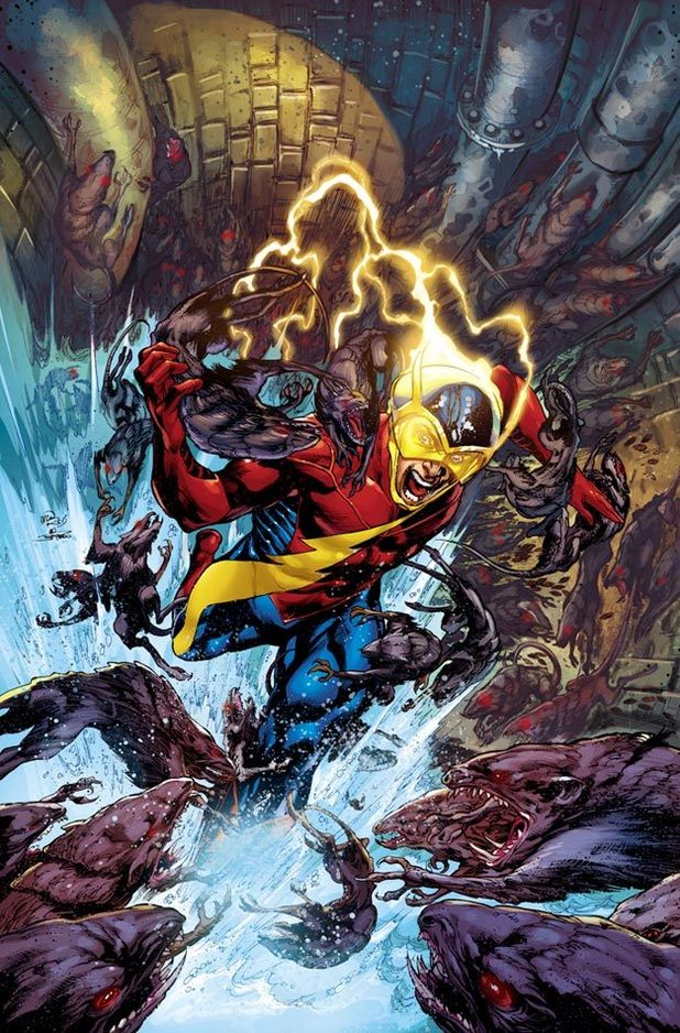 Earth 2 #2 Jay Garrick Flash